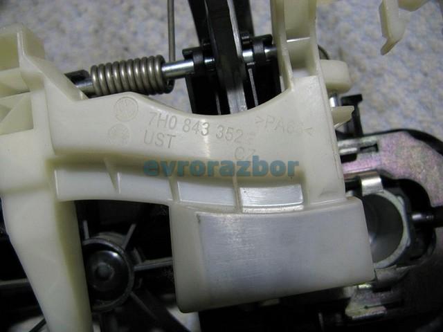 Ручка двери фольксваген транспортер конвейер для бревна